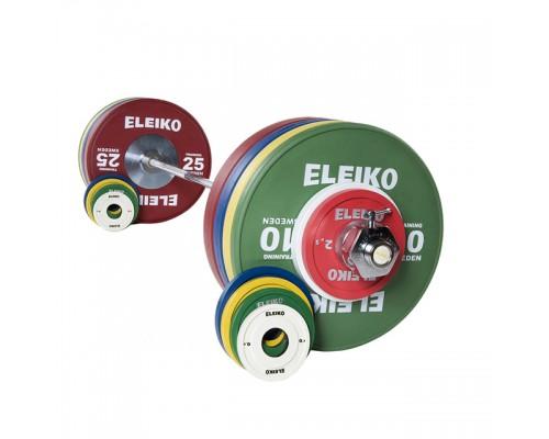 Олимпийская тренировочная штанга Eleiko в сборе 185 кг цветная женская 3001237