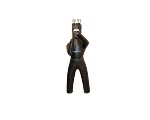 Манекен для бокса Boyko с ногами с узлом крепления на 6 пружинах ПРАВЫЙ (04062201) ПВХ
