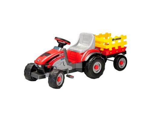 Трактор Peg-Perego MINI TONY TIGRE с прицепом (CD0529)