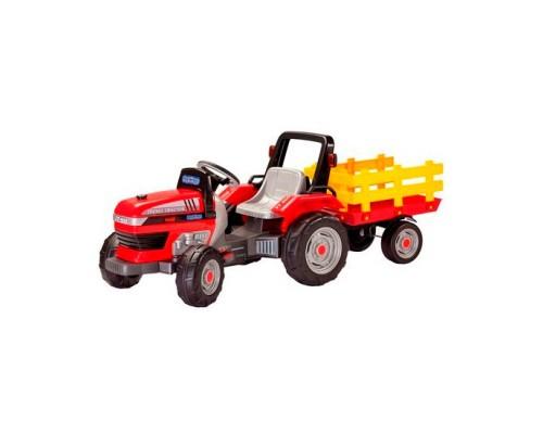 Трактор Peg-Perego MAXI DIESEL TRACTOR с прицепом (CD 0551)